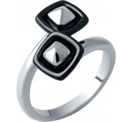Серебряное кольцо SilverBreeze с керамикой (1908266) 16.5 размер