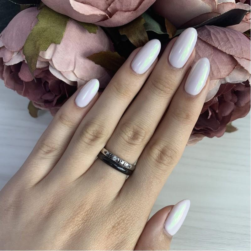 Серебряное кольцо SilverBreeze с керамикой (1908327) 15.5 размер