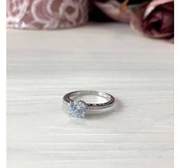 Серебряное кольцо SilverBreeze с фианитами (1914595) 16.5 размер