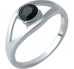 Серебряное кольцо SilverBreeze с натуральным сапфиром (1933084) 18 размер