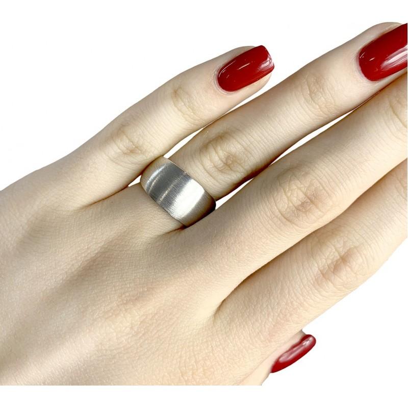 Серебряное кольцо SilverBreeze без камней (1939123) 19 размер