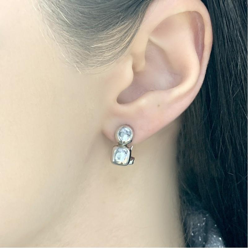 Серебряные серьги SilverBreeze без камней (1525913)