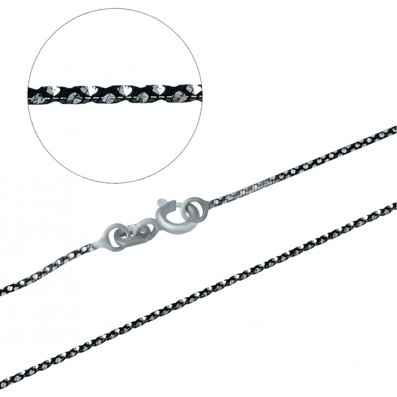 Серебряная цепочка SilverBreeze без камней (1112250) 400 размер