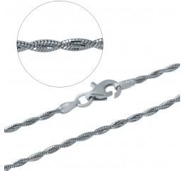 Серебряная цепочка SilverBreeze без камней (1482957) 450 размер