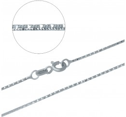 Серебряная цепочка SilverBreeze без камней (1485293) 450 размер