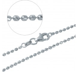 Серебряная цепочка SilverBreeze без камней (1936405) 450 размер