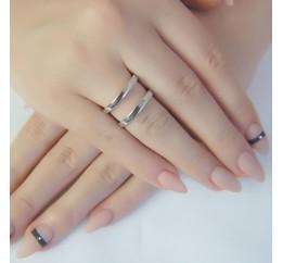 Серебряное кольцо SilverBreeze без камней (1941102) 18.5 размер