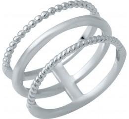 Серебряное кольцо SilverBreeze без камней (1941119) 19 размер
