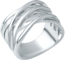 Серебряное кольцо SilverBreeze без камней (1941126) 18 размер