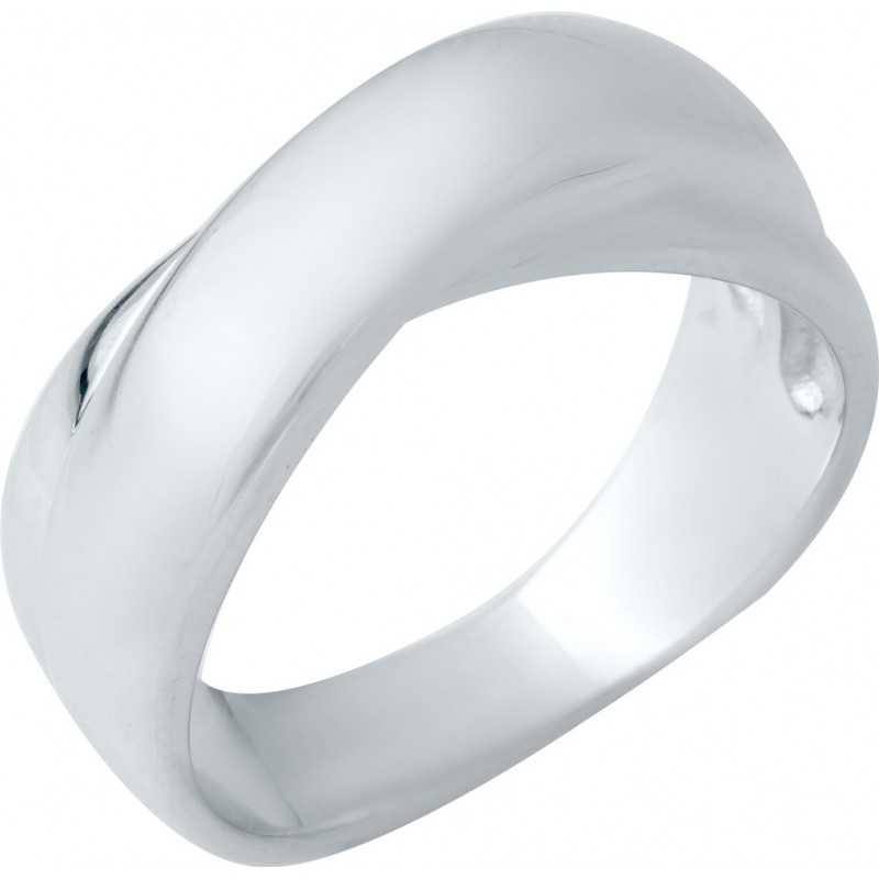 Серебряное кольцо SilverBreeze без камней (1941232) 16.5 размер