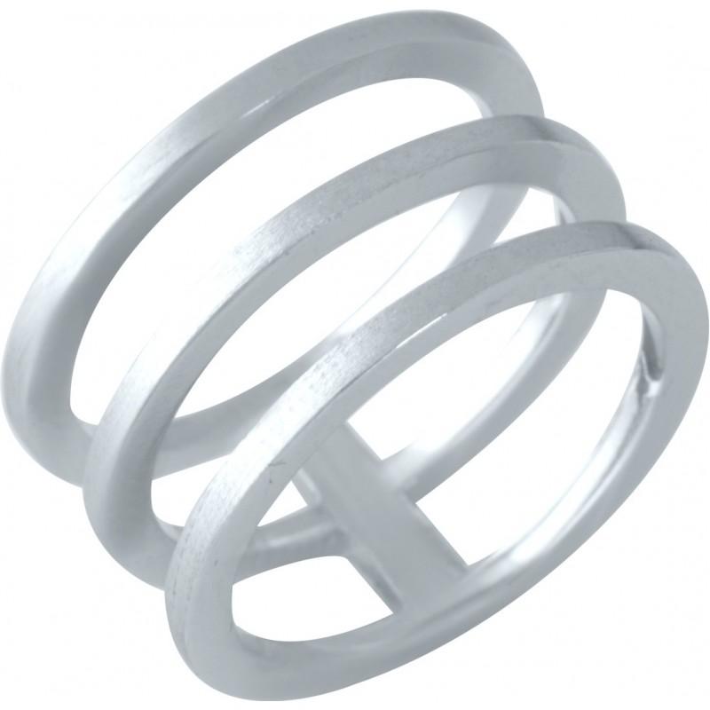 Серебряное кольцо SilverBreeze без камней (1957271) 16 размер