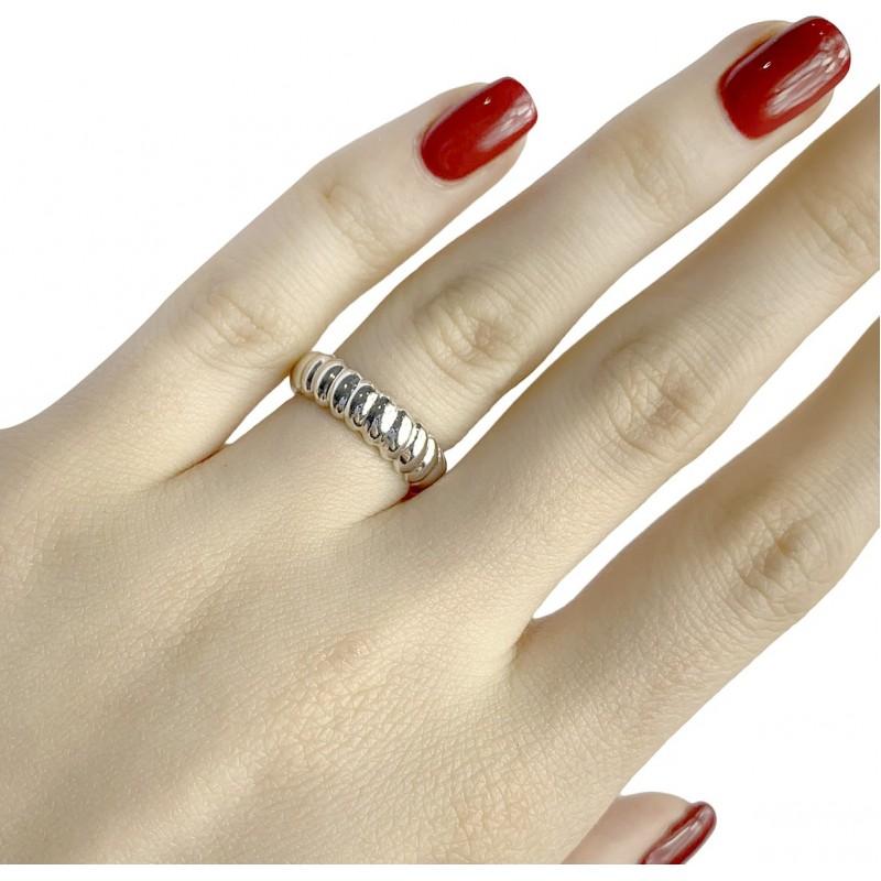 Серебряное кольцо SilverBreeze без камней (1957295) 16 размер