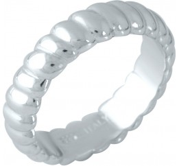 Серебряное кольцо SilverBreeze без камней (1957295) 18.5 размер