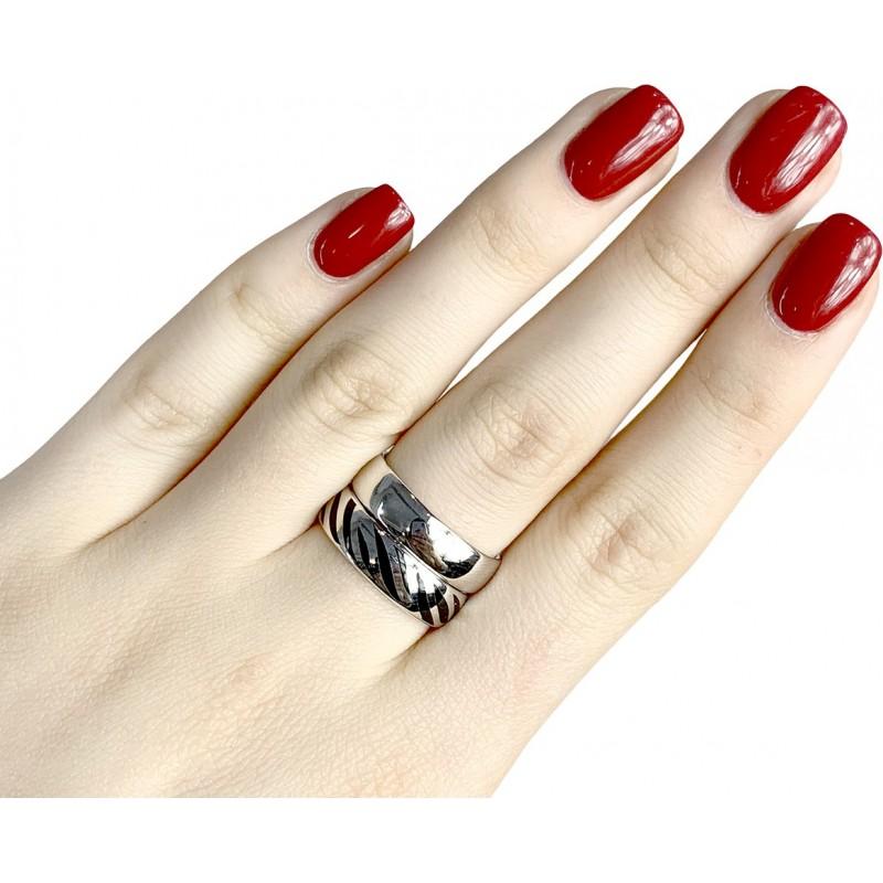 Серебряное кольцо SilverBreeze без камней (1982457) 15.5 размер