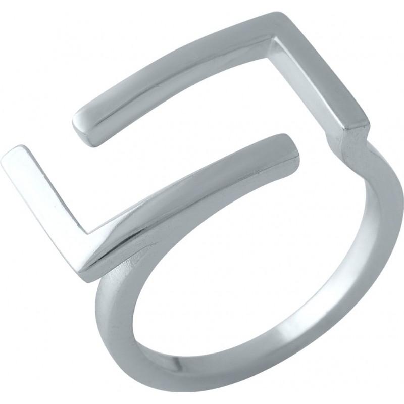 Серебряное кольцо SilverBreeze без камней (1998397) 18 размер
