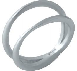 Серебряное кольцо SilverBreeze без камней (1998649) 16 размер
