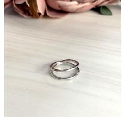Серебряное кольцо SilverBreeze без камней (1998649) 16.5 размер