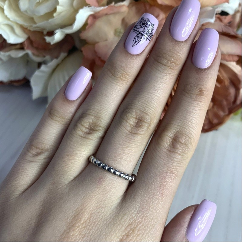 Серебряное кольцо SilverBreeze без камней (2002130) 16 размер