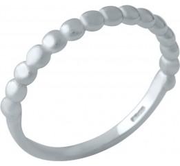 Серебряное кольцо SilverBreeze без камней (2002130) 17 размер