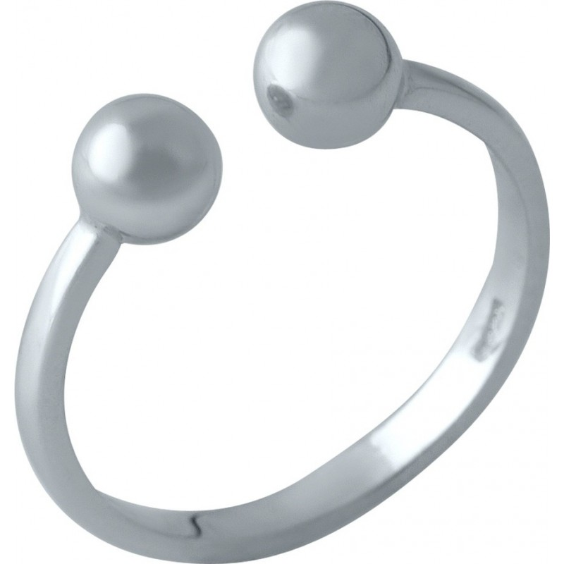 Серебряное кольцо SilverBreeze без камней (2002161) Регулируемый размер