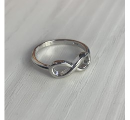 Серебряное кольцо SilverBreeze без камней (2002208) 16.5 размер