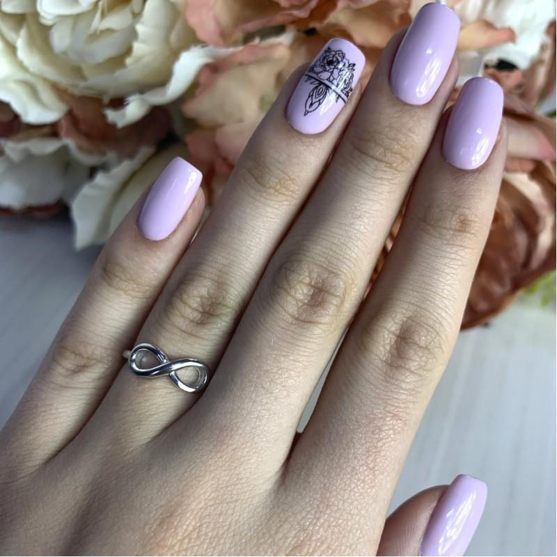 Серебряное кольцо SilverBreeze без камней (2002208) 17.5 размер