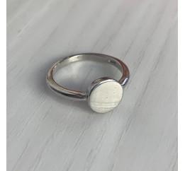 Серебряное кольцо SilverBreeze без камней (2002222) 14 размер