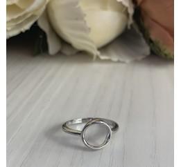 Серебряное кольцо SilverBreeze без камней (2002239) 15.5 размер