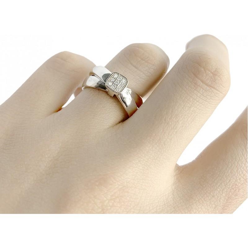 Серебряное кольцо SilverBreeze с  (1957264) 16 размер