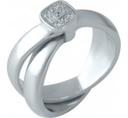 Серебряное кольцо SilverBreeze с  (1957264) 16.5 размер