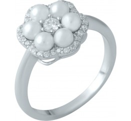 Серебряное кольцо SilverBreeze с  (1980385) 17 размер