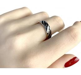 Серебряное кольцо SilverBreeze с емаллю (1985946) 17 размер