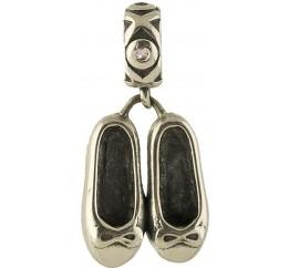 Серебряный шарм SilverLine без камней (1342190)