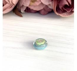 Серебряный шарм SilverBreeze с стеклом Мурано (2003885)
