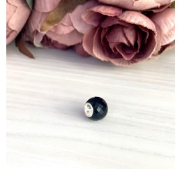 Серебряный шарм SilverBreeze с стеклом Мурано (1967669)