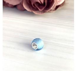 Серебряный шарм SilverBreeze с стеклом Мурано (1967652)