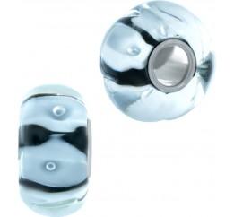 Серебряный шарм SilverBreeze с стеклом Мурано (1952511)