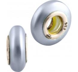 Серебряный шарм SilverBreeze с стеклом Мурано (1740248)