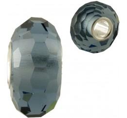 Серебряный шарм SilverBreeze с стеклом Мурано (1346327)