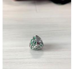 Серебряный шарм SilverBreeze с емаллю (1998670)