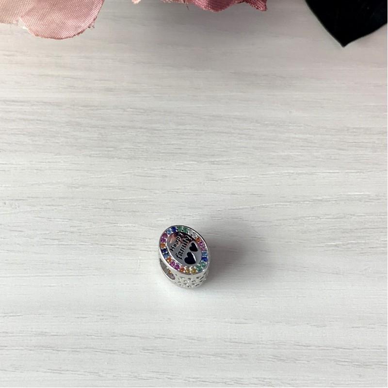 Серебряный шарм SilverBreeze с , емаллю (1998663)