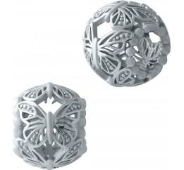 Серебряный шарм SilverBreeze без камней (1932216)