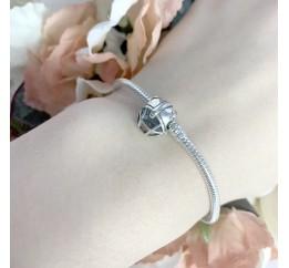Серебряный шарм SilverBreeze без камней (1765241)