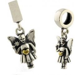 Серебряный шарм SilverBreeze без камней (1435045)