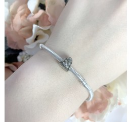 Серебряный шарм SilverBreeze без камней (1434178)