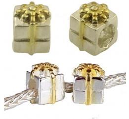 Серебряный шарм SilverBreeze без камней (1433812)
