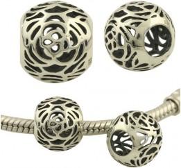 Серебряный шарм SilverBreeze без камней (1428139)