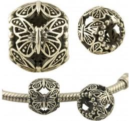 Серебряный шарм без камней (1348871)