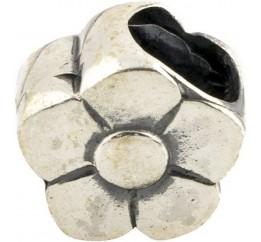 Серебряный шарм SilverBreeze без камней (1098127)