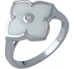 Серебряное кольцо SilverBreeze с керамикой (1982303) 17 размер